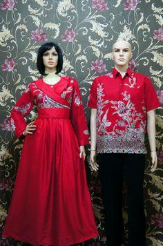sarimbit-gamis-SG130   Batik Sarimbit   Pinterest