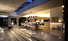 modern architecture - dining room