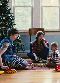 "Lena Dunham and Anna Kendrick celebrate the holidays in Joe Swanberg's latest, ""Happy Christmas."" #sundance2014"