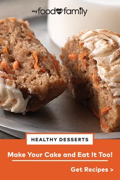 Desserts can be an enjoyable part of a balanced lifestyle. Click here for a few helpful tips and tricks to create delicious desserts with more nutrients and less added sugar and saturated fat.