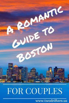 Boston is a city of culture history sports and romance. Our guide for couples shows you what to do see & eat for the perfect romantic Boston getaway. Romantic Destinations, Romantic Vacations, Romantic Getaways, Romantic Travel, Romantic Restaurants, Travel Destinations, Au Pair, Boston Travel Guide, Boston Things To Do