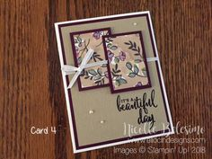 6 x 6 One Sheet Wonder Project with Share What You Love Specialty Designer Series Paper Card Making Templates, Card Making Tips, Card Making Tutorials, Making Ideas, Paper Cards, Folded Cards, Men's Cards, Cards Diy, One Sheet Wonder