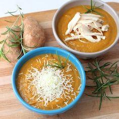Crockpot Sweet Potato Soup Recipe