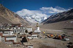 Mount Everest Basecamp Tibetan side, September 2007