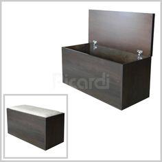 Ba l pie de cama tapizado capiton 119 20 muebles - Baul asiento dormitorio ...