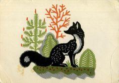 Kirill Ovchinnikov Library things: The fox in Russian book illustrations