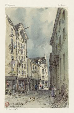 Rue Boutebrie, chiffonnier (1850)   Flickr - Photo Sharing!
