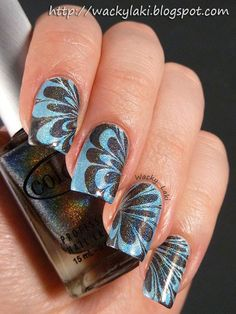 Beautiful! I would love to have this mani on my nails!