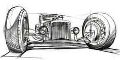 Resultado de imagem para kombi art prints Image 19 of Bodies for the Model T Ford and other Brass Era chassis' From a talented artist in Slovenia; Cool Car Drawings, Garage Art, Car Illustration, Airbrush Art, Lowbrow Art, Car Sketch, Automotive Art, Sketch Design, Cartoon Art