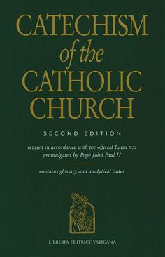 Free online Catechism of the Catholic Church which has a search facility. A wonderful resource: http://www.usccb.org/beliefs-and-teachings/what-we-believe/catechism/catechism-of-the-catholic-church/epub/index.cfm