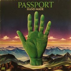 """The 1971 cover for Passport's """"Hand Made."""" No word on designer, but I love it."""