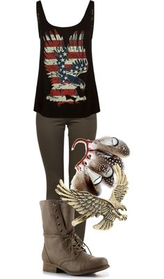 """""""american symbol"""" by heart41286 on Polyvore"""