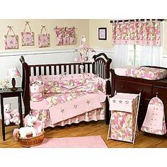 Sweet Jojo Designs -Camo Pink Collection Changing Pad Cover