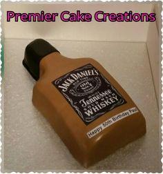 Jack Daniels Bottle Cake