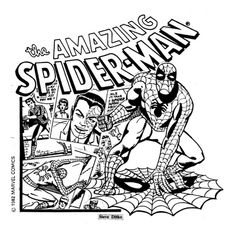 Steve Ditko. Spider-Man. #SteveDitko #SpiderMan