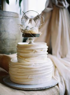 Mr. & Mrs Wedding Cake Topper for Lindsey by OvertheTopStudios