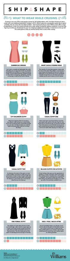 Going on a cruise? Top tips to help you organise your holiday outfits to get…