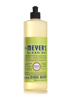 Mrs. Meyer's Lemon Verbena Dish Soap. Makes me want to do the dishes