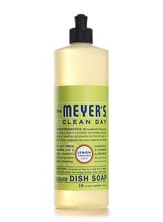 Lemon Verbena Dish Soap Liquid from Mrs. Meyer's Clean Day