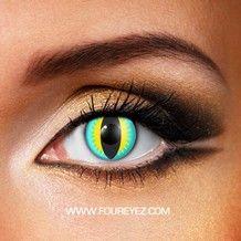 Aqua Dragon Contact Lenses
