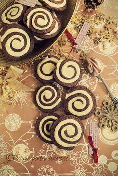 Biscuiti spiralati - Pasiune pentru bucatarie- Retete culinare Good Food, Healthy Food, Yummy Food