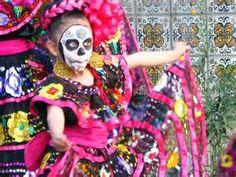 spanish dancer dia de los muertes - - Yahoo Image Search Results