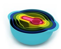 bowled over: see Joseph & Joseph even make mixing bowls look amazing.