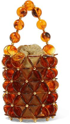 f6800200ab49f Vanina - Icaria acrylic and gold-plated beaded tote
