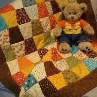 You have to see Crayon Tips, Crib Quilt by jsimmonds4544!