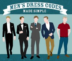dress codes for men
