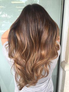 awesome Модное окрашивание балаяж на темные волосы (50 фото) — Солнечные блики на локонах