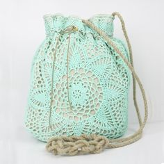 Bolso crochet tuquesa