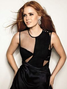 Amy Adams. I think she's beautiful... and omg that dress!