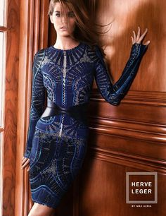 b871c54a8f1e 56 Best In Style: Herve Leger images | Max Azria, Fashion Show ...