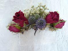 Haarschmuck , getrocknete Blüten