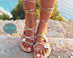 Gladiator leather sandals women, leather sandal 100% genuine leather