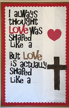 350 best bulletin board ideas for church images in 2019 Christian Bulletin Boards, Church Bulletin Boards, Religious Bulletin Boards, Valentine Bulletin Boards, February Bulletin Board Ideas, Kids Church, Church Ideas, Church Crafts, Sunday School Crafts
