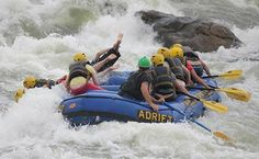 Ouch!! That'll hurt.. but who cares!! Adventure is always worthwhile...  http://www.peakadventuretour.com/alaknanda-river-rafting.html #adventuretravel #riverrafting
