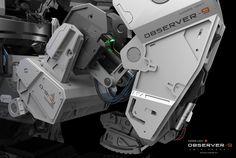 ArtStation - Observer 9 - Mars Unit , Amin Akhshi