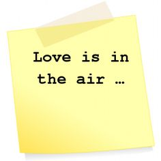 ⭕️ Love is in the air ...