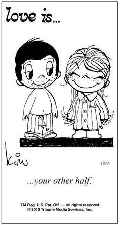 Love Is Comics   Love Is ... (October 9, 2010) Comic Strip   ComicStripNation.com