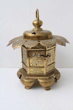 Brass Asian Pagoda Lantern Lighting Lantern Lighting, Unique Lighting, Asian Design, Asian Style, Asia Travel, All The Colors, Henna, Lust, Lanterns