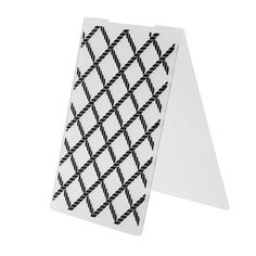 1pc Lattice pattern Plastic Embossing Folder For for DIY Scrapbooking Stamp/photo Album Decorative Stamp for Making Postcard #Affiliate
