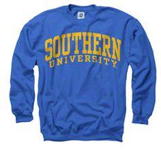 Southern Jaguars Royal Arch Crewneck Sweatshirt