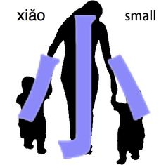 funwithcharacters:小=small
