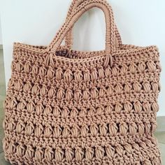 "4eea9c87c570 Crochet baskets   more on Instagram  "" knittingproject  knitting  crochet   crochetstyles  crocheting  handmade  womenbag  womenfashion  bag   womenstyle ..."
