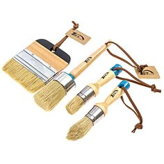 Buy Place Chalk & Wax Natural Bristle Brush Set – Round Brush, 2 Piece Brush Set & Flat Brush – Brushes) at Discounted Prices ✓ FREE DELIVERY possible on eligible purchases. Chalk Paint Brushes, Best Chalk Paint, Flat Brush, Brush Set, Natural Bristle Brush, Round Brush, Arts And Crafts Supplies, Furniture Makeover, Paint Colors