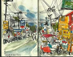 Amazing Thailand - part 1 - the islands | Urban Sketchers