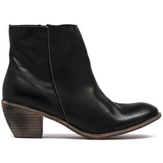 RIANO- Stacked Cuban heel ankle boot with zip and elastic insert on the inner side. Black Ankle Boots, Cuban, Cropped Pants, Looks Great, Booty, Fancy, Zip, Heels, Winter