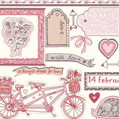 FREE PDF Be My Valentine papers | TheMakingSpot